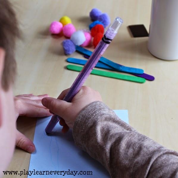 Pom Pom Frame - Play and Learn Every Day