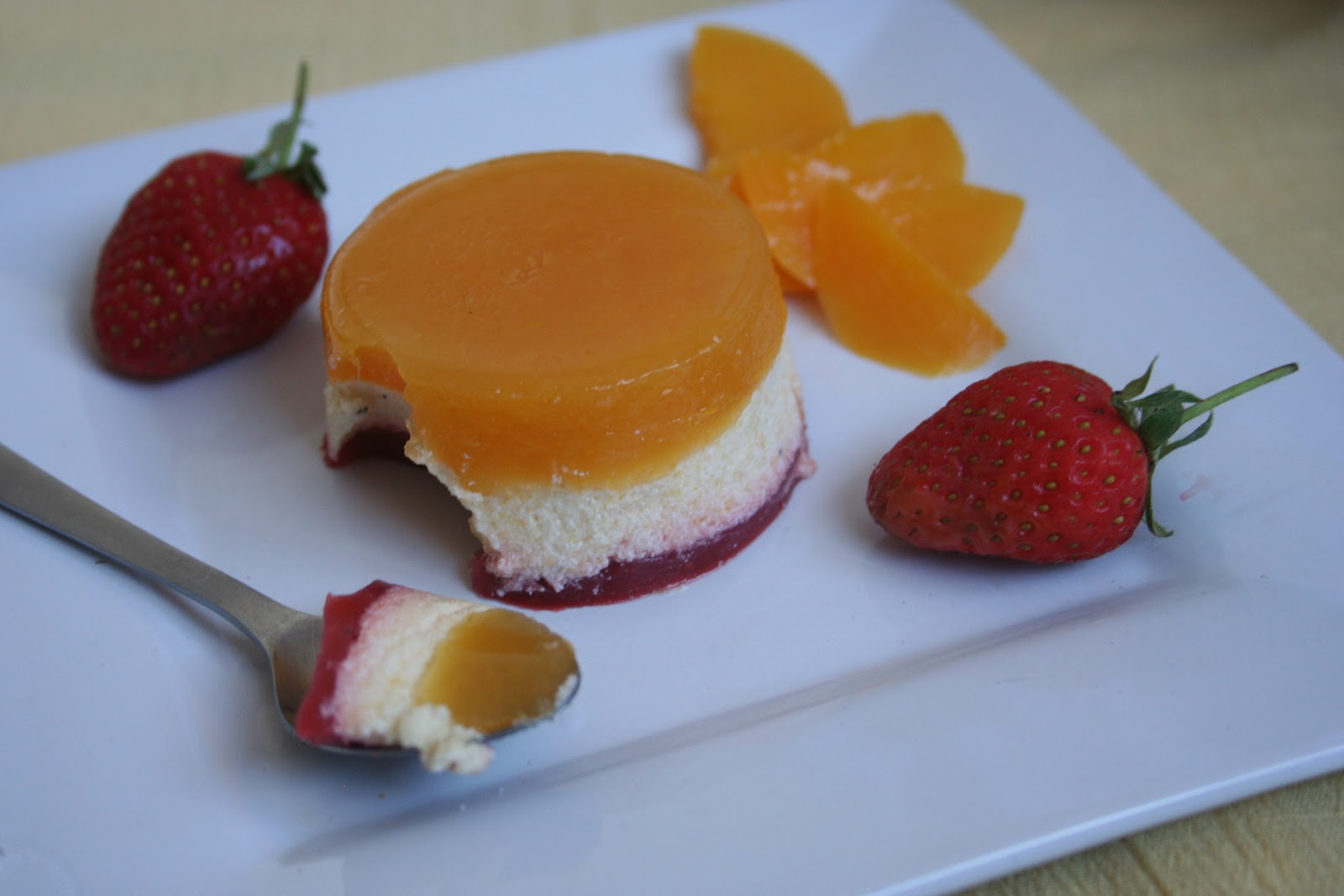Easy Yummy Cookery: Peach Mousse Verrines