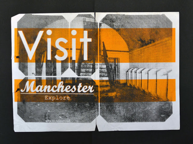 buro, buro 1.5, mmu, ma, d&ad, school of art, manchester, screenprinting, found objects, details, ephemera, city, urban narrative, postcards, visit manchester,