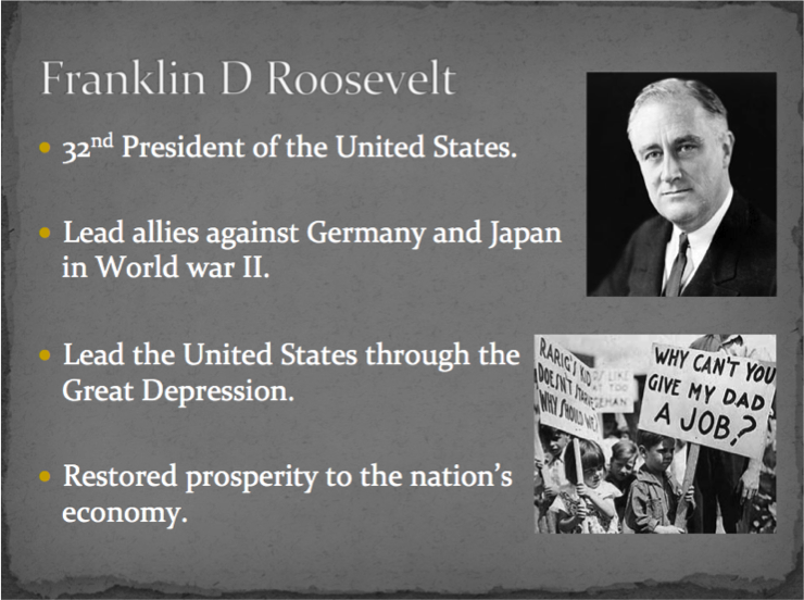 franklin d roosevelt and his war on great depression Here, we explore the president's life born: 30 january 1882, hyde park, new york, us died: 12 april 1945, warm springs, georgia, us remembered for: being the president of the united states during the great depression – the longest economic downturn in us history, between 1929 and 1939 – and the second world war franklin is also often remembered for his.