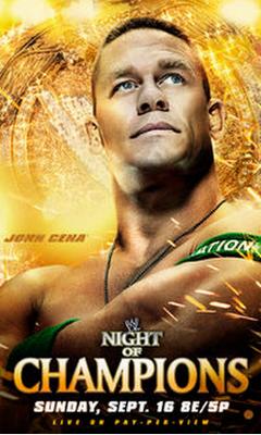 john cena como protagonista de el ppv night of champions