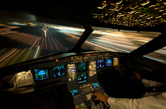 warp speed,flight deck,airbus,airline