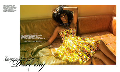 >Hot Shoot | Singana Margaret Darling by Mario Epanya