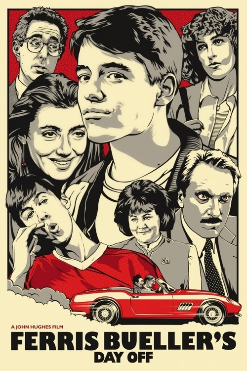 02-Ferris-Buellers-Day-Off-Film-and-TV-Series-Posters-US-Artist-Joshua-Budich-www-designstack-co