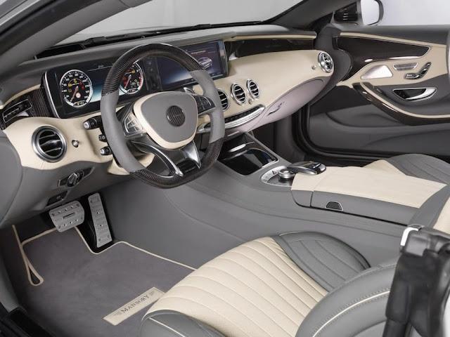 マンソリーがメルセデスS63 AMGクーペを900馬力にカスタム!