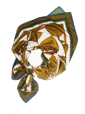Gold fish scarf by SquareLust