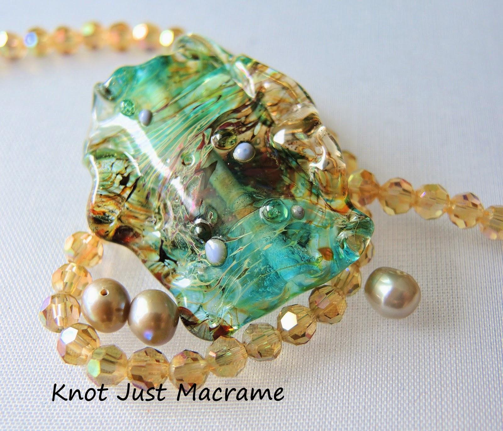 Lampwork bead by Marianna Boylan