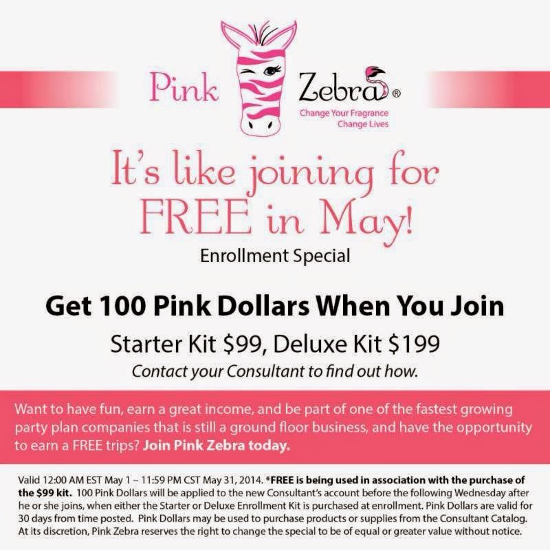 May 2014 Pink Zebra Business Kit Special Image