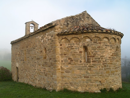 L'absis amb arcuacions de Sant Miquel de Vilageriu