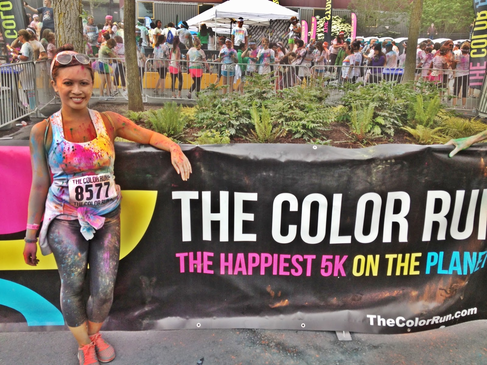 Picture of Color Run Seattle - Coloring Steps