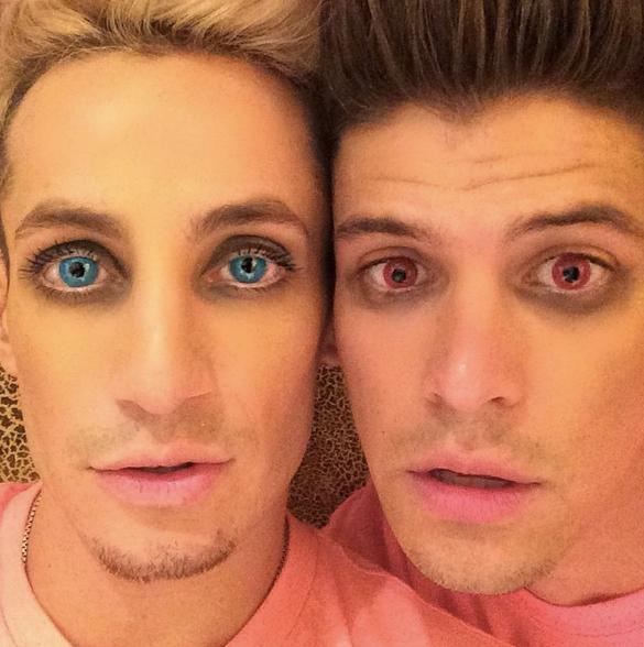 BB16 Frankie and Zach on Halloween