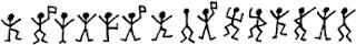 Criptograma de los bailarines, ¿sabes qué dice?