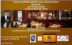 Cena con el conde de Gavaldá: Lunes 4 de Mayo 2015.