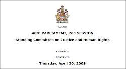 Parliamentary Record----Evidence