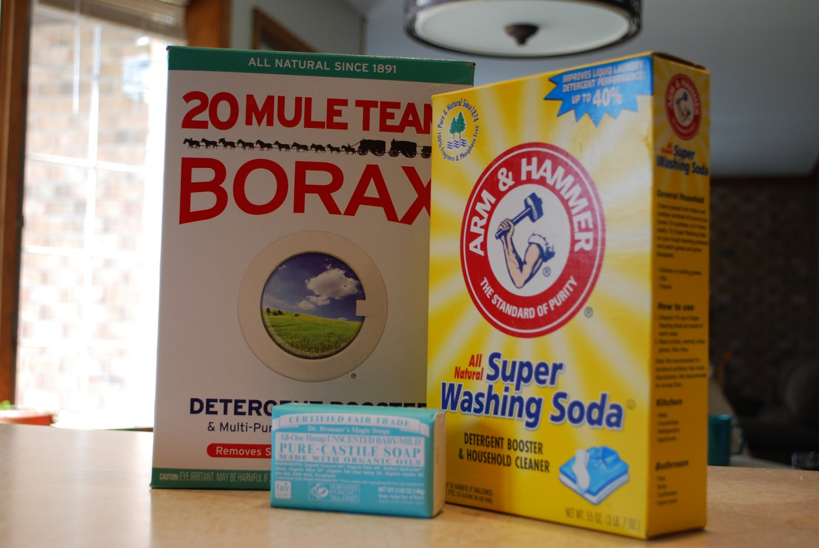 how to use baking soda in front loaders