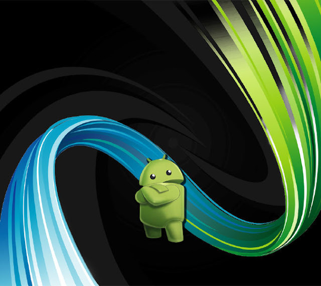 Wallpaper for android phones with android robot logo android themes voltagebd Gallery