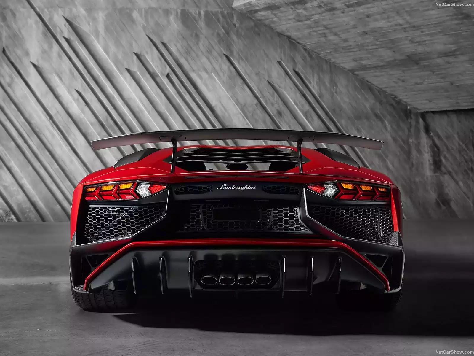 Hình ảnh siêu xe Lamborghini Aventador LP750-4 SV 2016 & nội ngoại thất