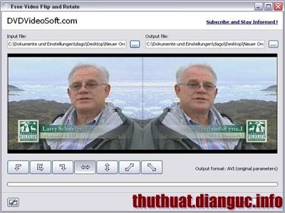 Phần mềm xoay video bị ngược 90 180 độ ngang, nghiêng