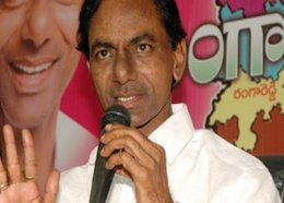 TRS chief K Chandrasekhar Rao
