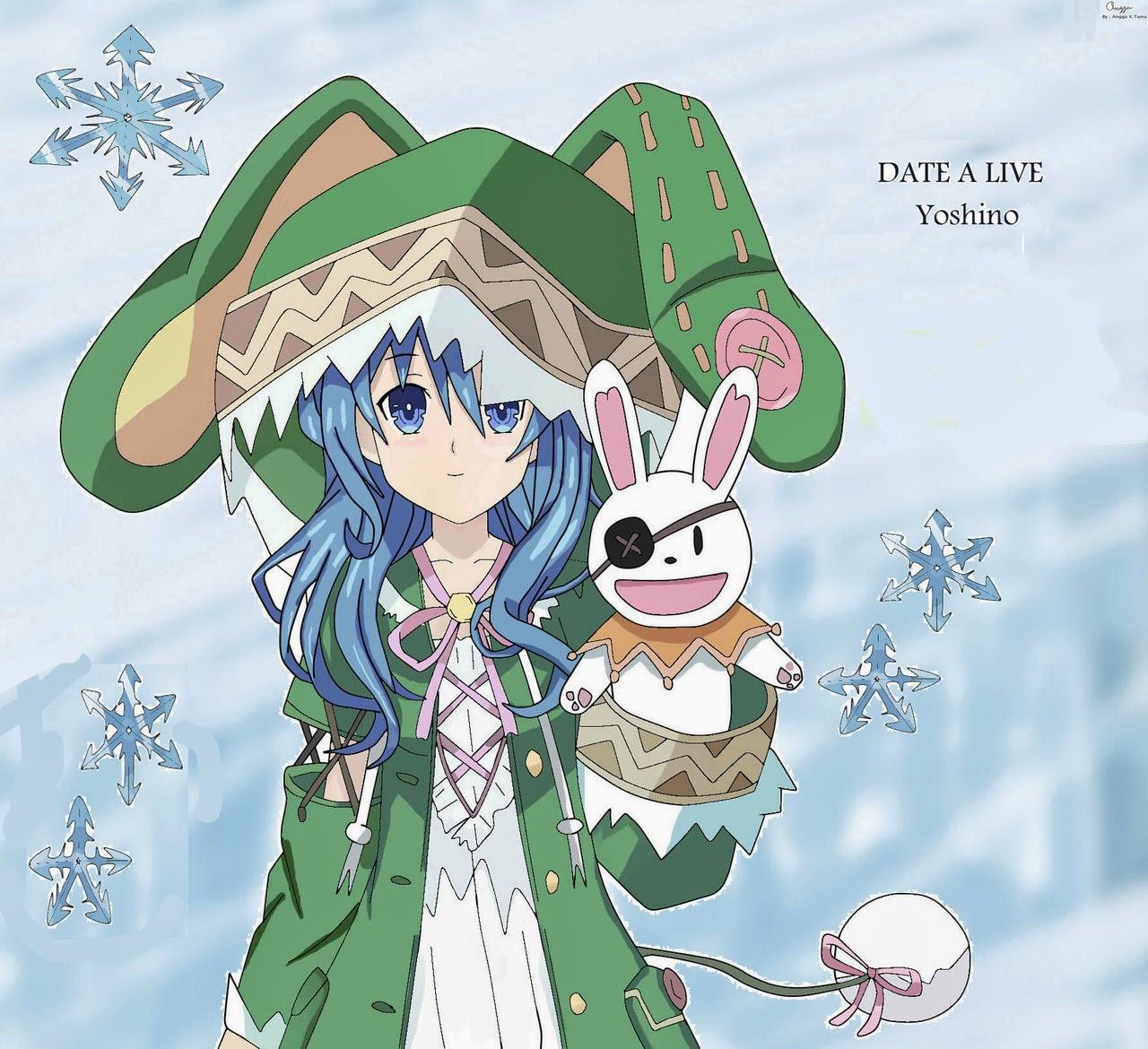 Wallpaper Yoshino DATE A LIVE