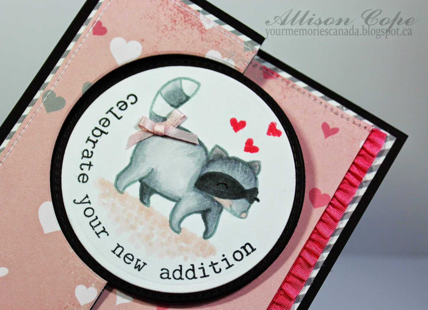 Scrapbook and Cards Today tutorial Swing Card Allison Cope