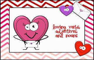 http://www.teacherspayteachers.com/Product/Loving-nouns-verbs-and-adjectivies-1042758