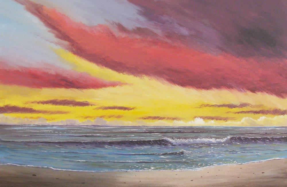 Artist Derek Collins Blog, modern impressionist landscape ...