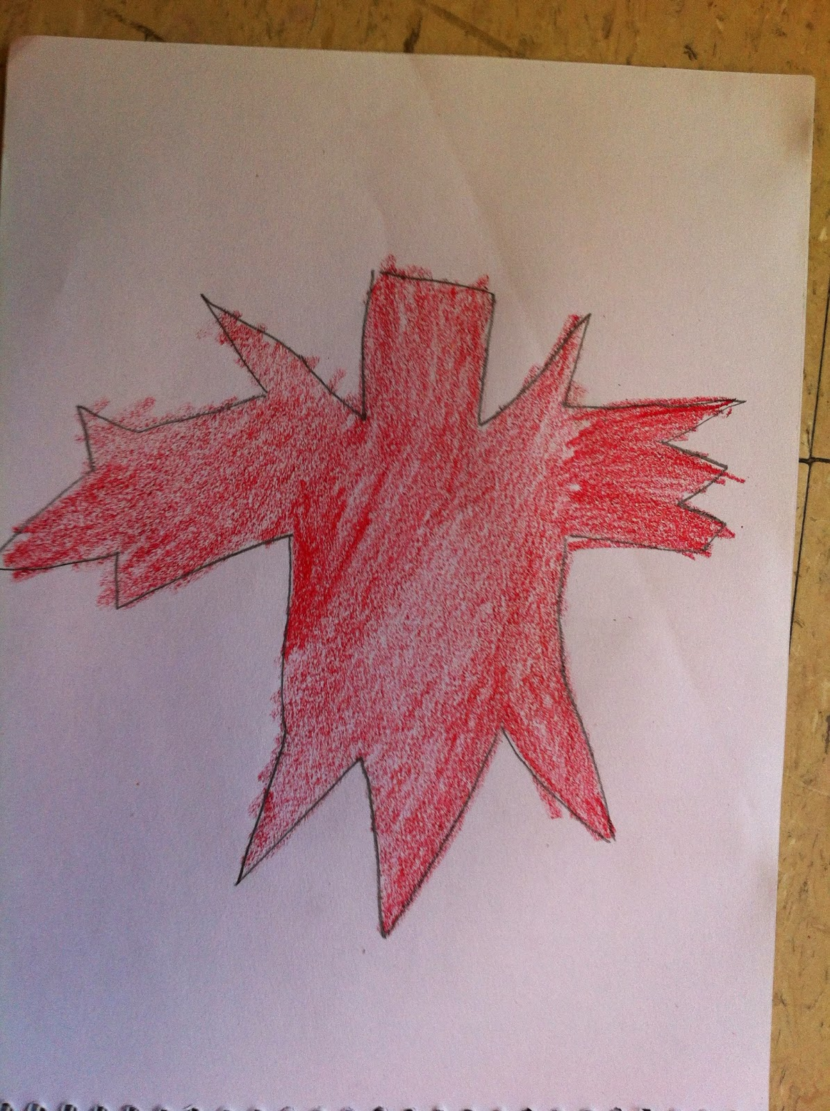 how to draw the canadian flag