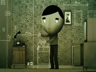 91 Cm uzakta yaşamak, psikoloji, psikolojik sorunlar, ödüllü kısa film, ödüllü anime, şizofrenik bozukluk, şizofreni