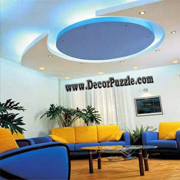 Led Ceiling Lights For Suspended Of Plasterboard Living Room