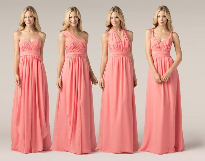 Maxi Convertible Bridesmaid Dresses Trend