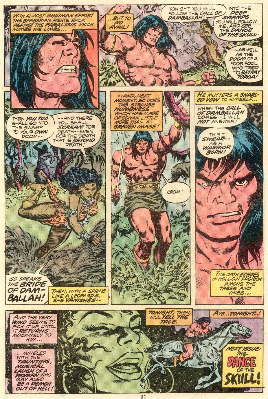 Conan the Barbarian (1970) Issue #82 #94 - English 20
