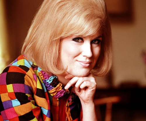 Photo portrait of Dusty Springfield