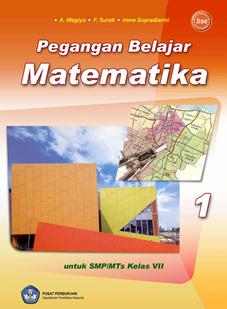 buku bse matematika,matematika,bse,pelajaran matematika,matematika smp,buku pelajaran,Pegangan Belajar Matematika 1 : untuk SMP/MTs kelas VII