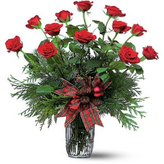 Send A Dozen Red Roses for the Holiday Season