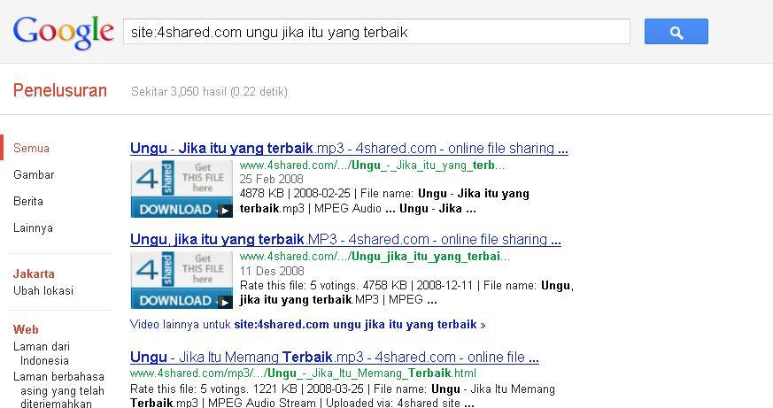 Cara membuka situs 4shared.com yang di blokir