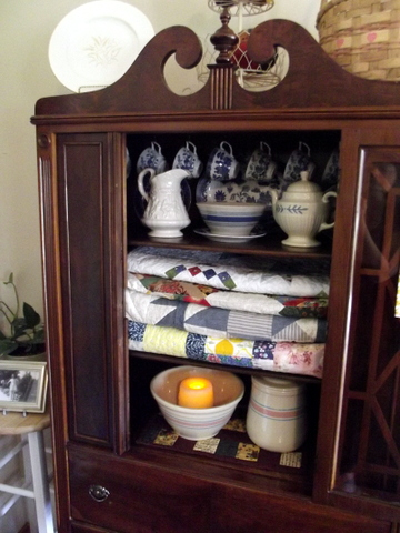 decorating with mamau0027s antique china cabinet