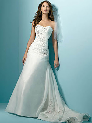 Alfred Angelo Wedding Dress 2011