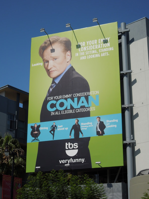 Conan Emmy 2012 billboard