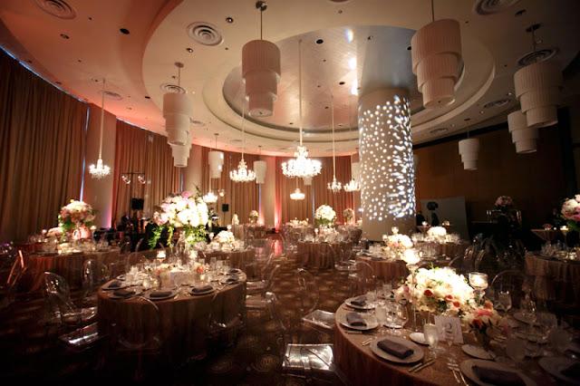 Trump Hotel Wedding Reception