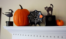 Halloween Mantel