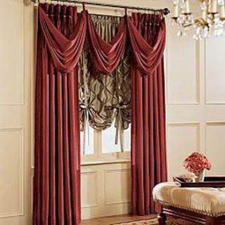 Decorando dormitorios fotos de cortinas para sala con cenefas - Cortinas para sala ...