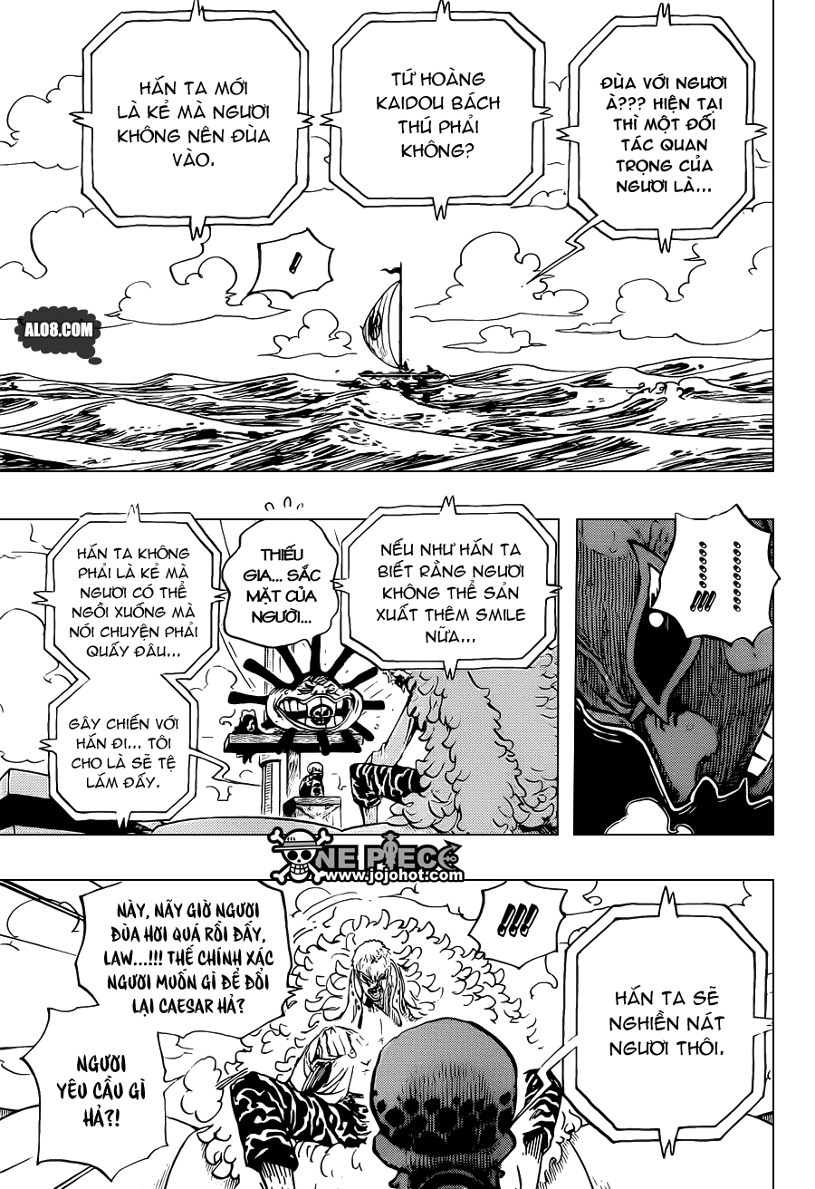 One Piece Chapter 697: Thỏa thuận 017