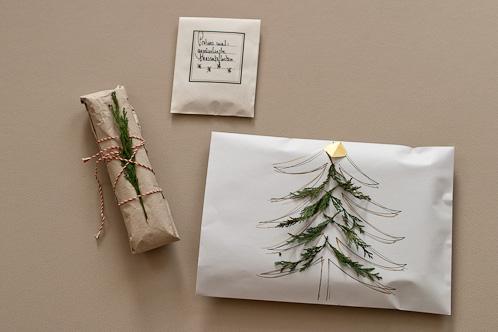 Einpackideen für Weihnachtsgeschenke von matundmi
