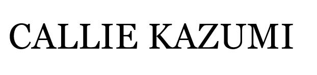 Callie Kazumi