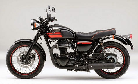 otoasia.net - Setelah meluncurkan moge bergaya klasik Estrella 250, ternyata, Kawasaki juga berencara untuk meluncurkan motor bergaya klasik lagi yakni, Kawasaki W800, motor yang memiliki tampilan Café Racer.