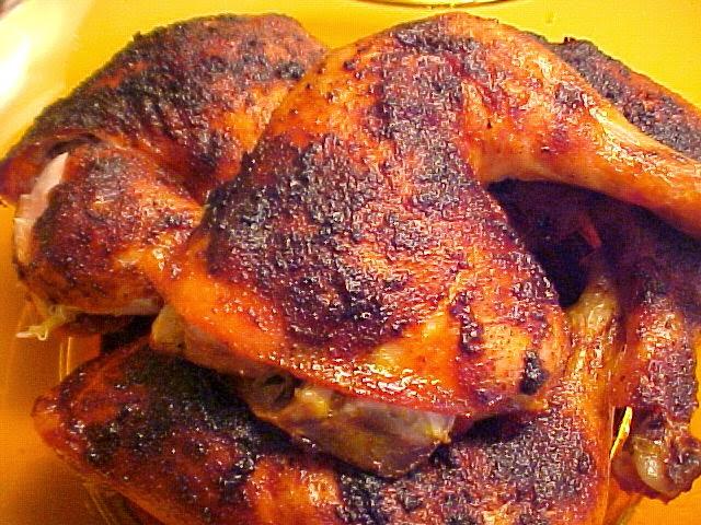 La table en f te d licieuses cuisses de poulet r ties au four - Cuisse de poulet a la moutarde au four ...