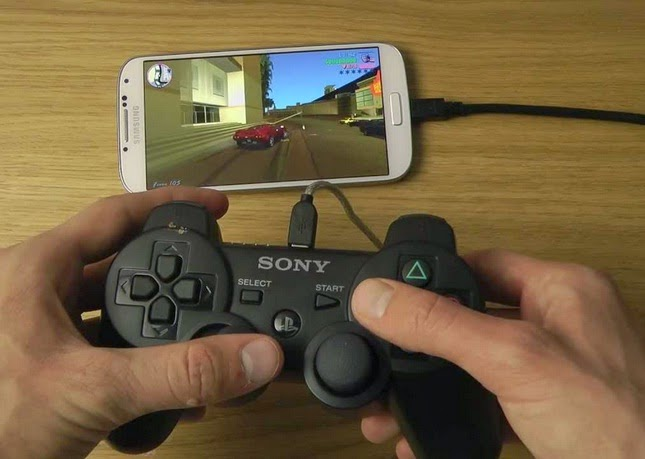 tutorial Memainkan Game Android(APK, PSP) Menggunakan Stik PS