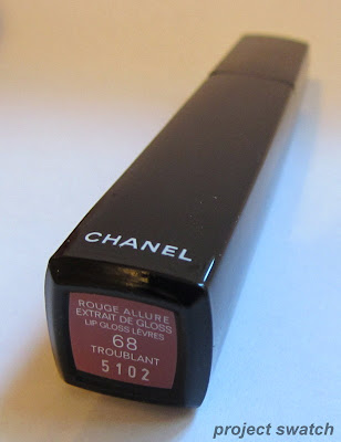 Chanel Troublant (68) Rouge Allure Extrait de Gloss