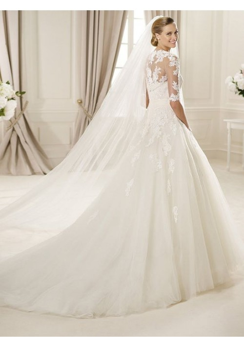 Wedding Dresses With Lace Sleeves Uk